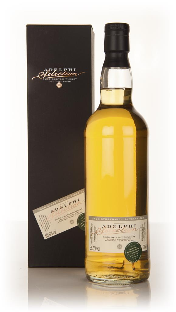 Strathmill 24 Year Old 1986 (Adelphi) Single Malt Whisky