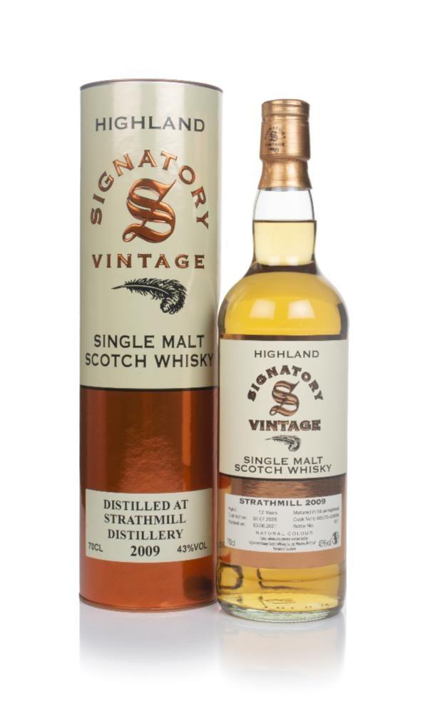 Strathmill 12 Year Old 2009 (casks 805070 & 805096) - Signatory Single Malt Whisky