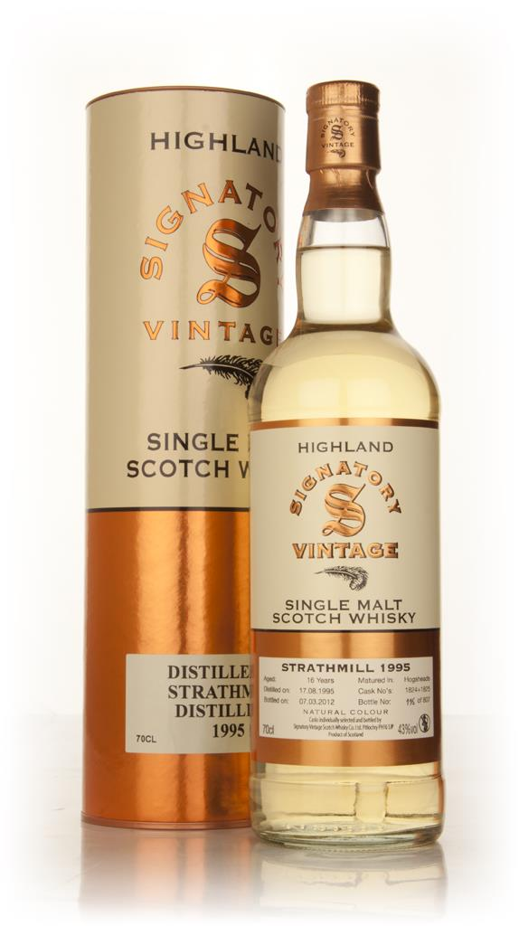 Strathmill 16 Year Old 1995 (casks 1824+1825) (Signatory) Single Malt Whisky