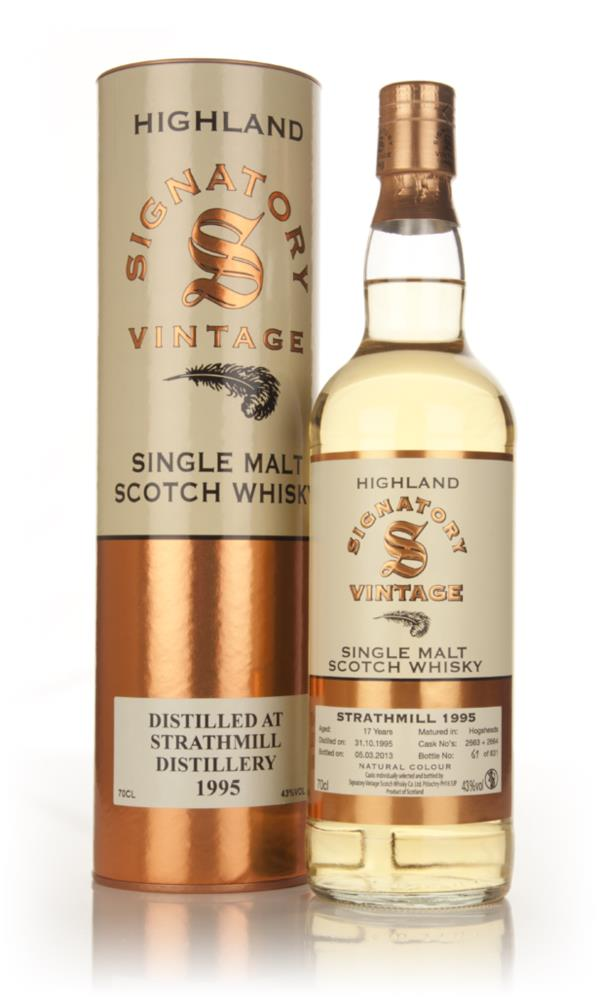 Strathmill 17 Year Old 1995 (casks 2663+2664) - (Signatory) Single Malt Whisky