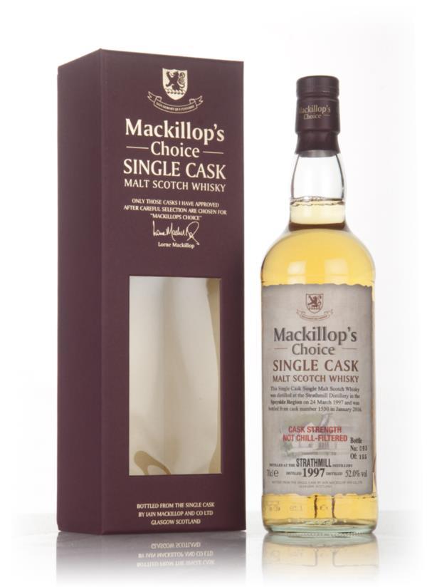 Strathmill 18 Year Old 1997 (cask 1530) - Mackillop's Choice 3cl Sampl Single Malt Whisky 3cl Sample