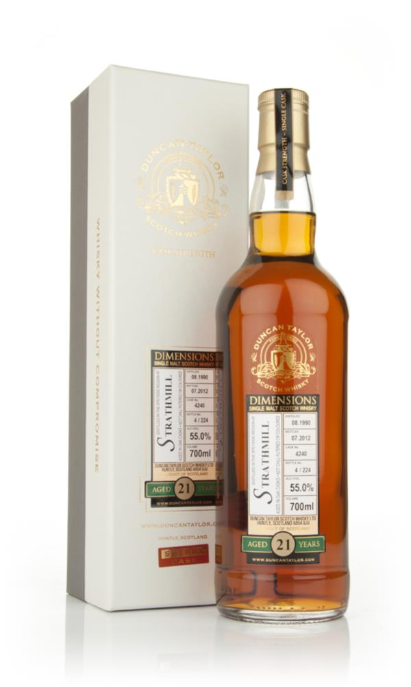 Strathmill 21 Year Old 1990 - Dimensions (Duncan Taylor) Single Malt Whisky