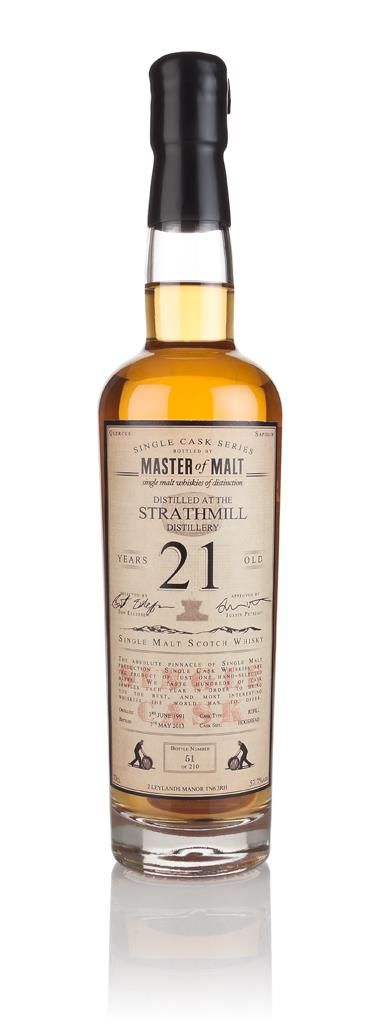 Strathmill 21 Year Old 1991 - Single Cask (Master of Malt) Single Malt Whisky