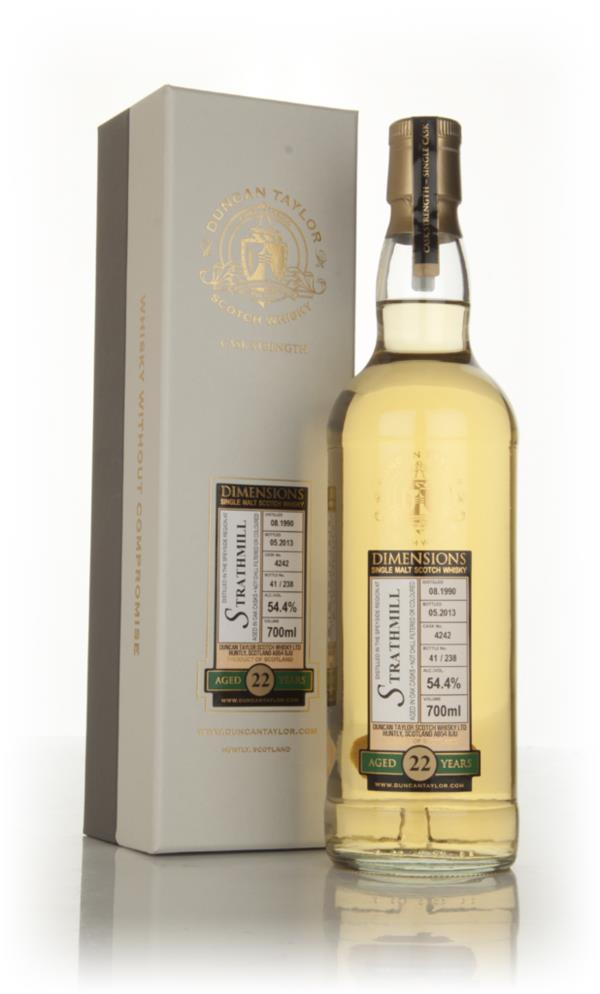 Strathmill 22 Year Old 1990 (cask 4242) - Dimensions (Duncan Taylor) Single Malt Whisky