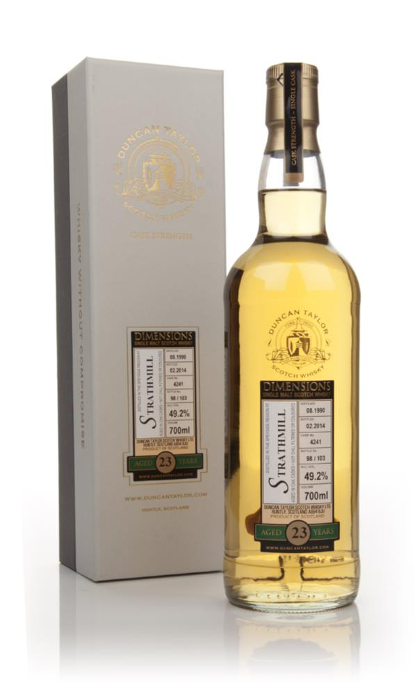 Strathmill 23 Year Old 1990 (cask 4241) - Dimensions (Duncan Taylor) Single Malt Whisky