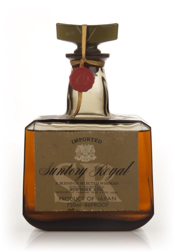 Suntory Royal Japanese Whisky - 1970s Blended Whisky
