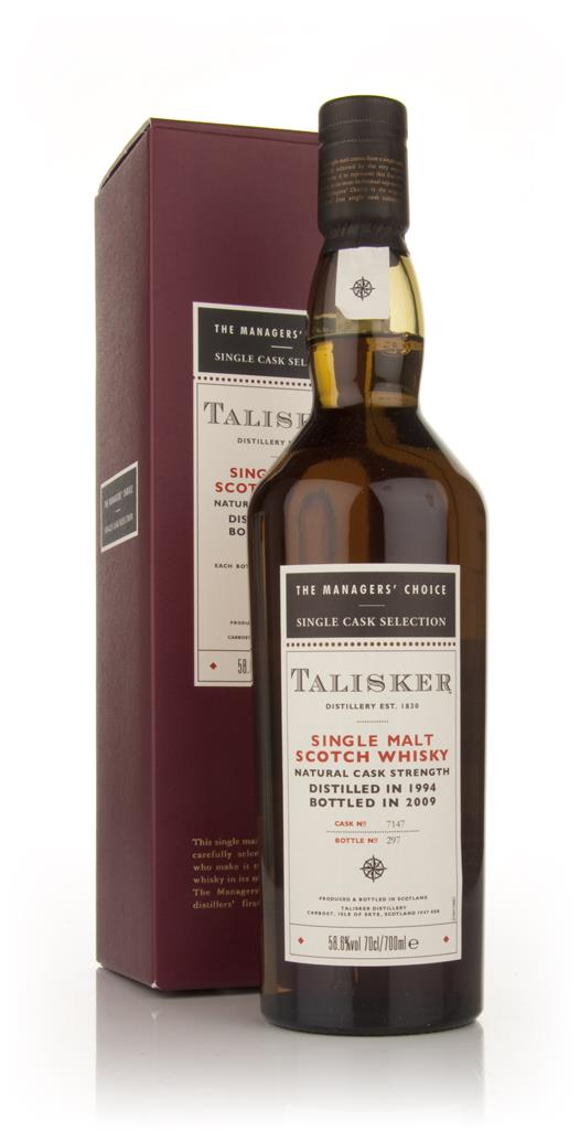 Talisker 1994 - Managers Choice Single Malt Whisky
