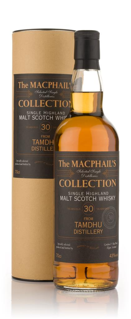 Tamdhu 30 Year Old - The MacPhails Collection (Gordon and MacPhail) Single Malt Whisky