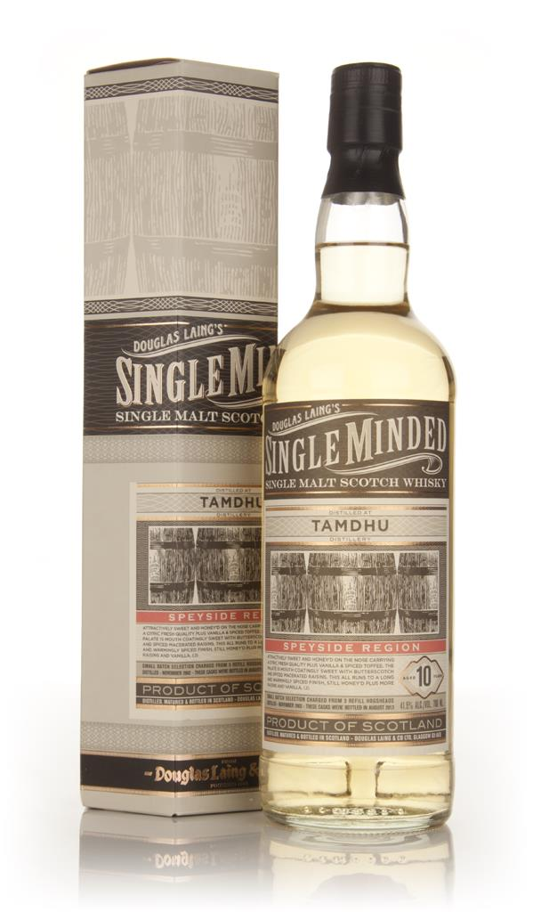 Tamdhu 10 Year Old 2002 - Single Minded (Douglas Laing) Single Malt Whisky