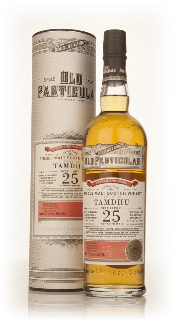 Tamdhu 25 Year Old 1988 (cask 9955) - Old Particular (Douglas Laing) Single Malt Whisky