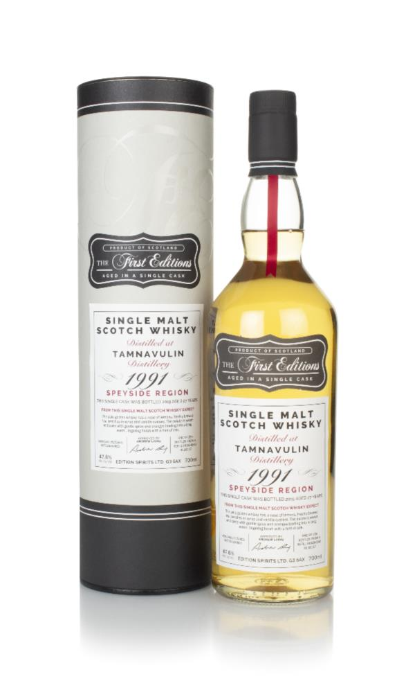Tamnavulin 27 Year Old 1991 (cask 16117) - The First Editions (Hunter Single Malt Whisky