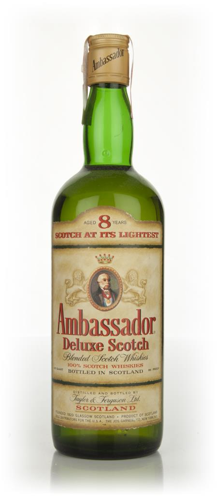 Ambassador 8 Year Old Deluxe Scotch Whisky - 1970s Blended Whisky