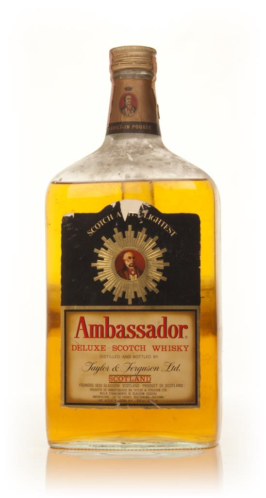 Ambassador Deluxe Blended Scotch Whisky - 1970s Blended Whisky