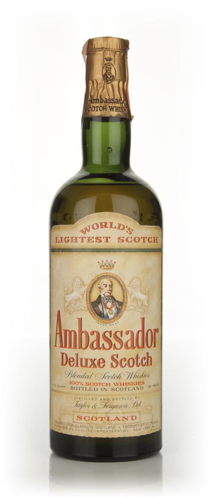 Ambassador Deluxe Scotch Whisky - 1960s Blended Whisky
