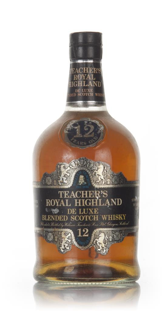 Teachers Royal Highland 12 Year Old - 1970 Blended Whisky
