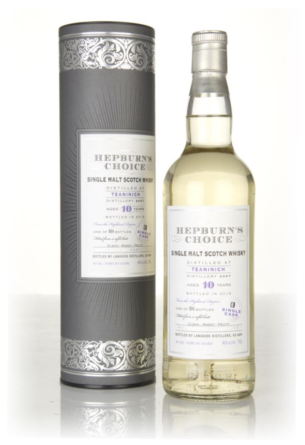 Teaninich 10 Year Old 2007  - Hepburn's Choice (Langside) Single Malt Whisky