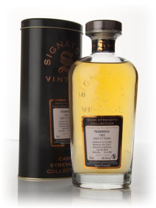 Teaninich 27 Year Old 1983 - Cask Strength Collection 2011 (Signatory) Whisky