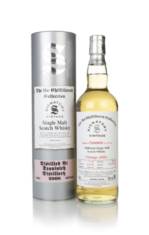 Teaninich 13 Year Old 2008 (casks 702611 & 702615) - Un-Chillfiltered Single Malt Whisky
