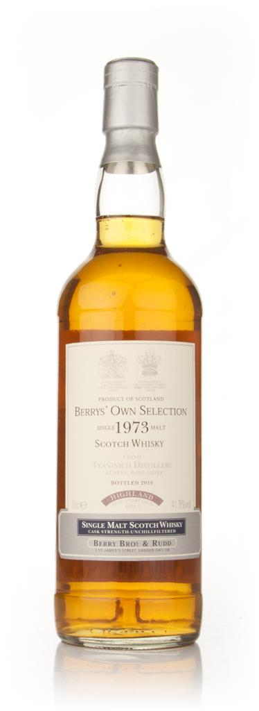 Teaninich 1973 (Berry Brothers and Rudd) Single Malt Whisky