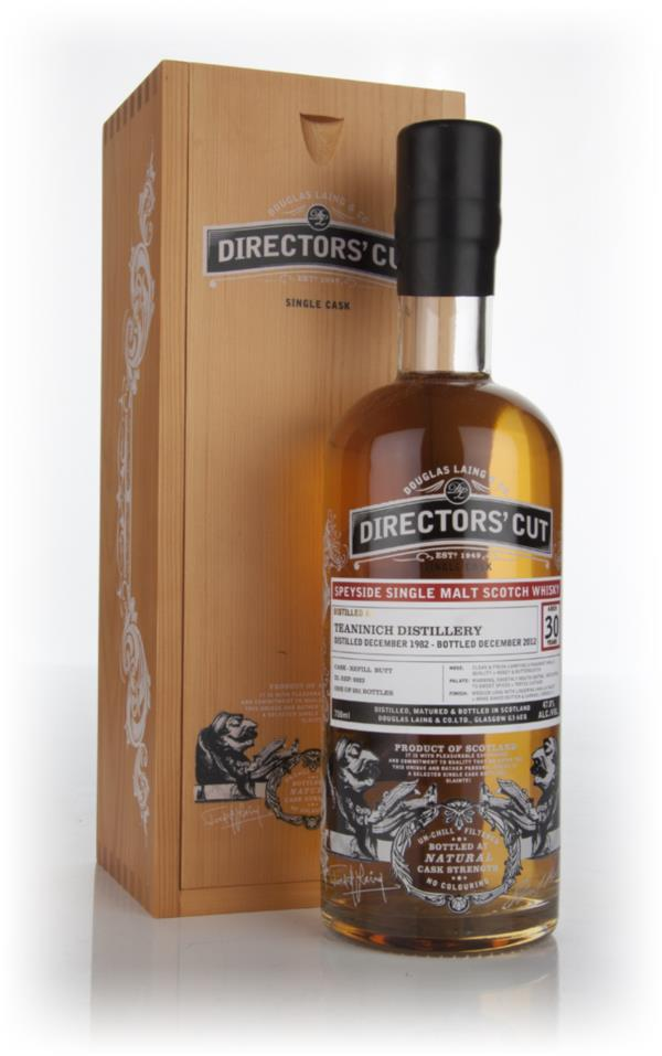 Teaninich 30 Year Old 1982 (cask 9323) - Directors Cut (Douglas Laing Single Malt Whisky