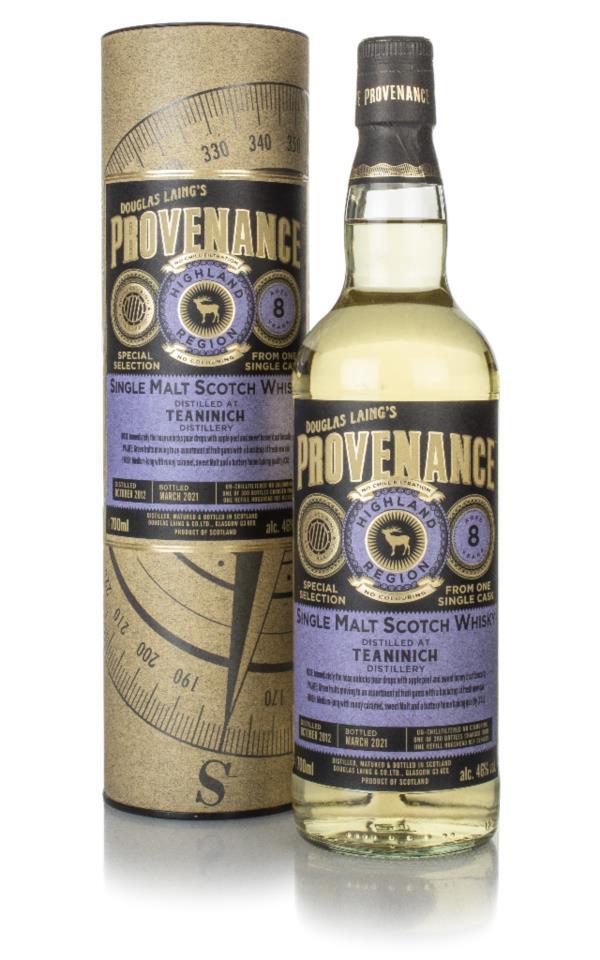 Teaninich 8 Year Old 2012 (cask 14679) - Provenance (Douglas Laing) Single Malt Whisky