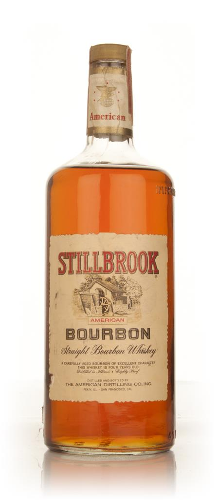 Stillbrook 4 Year Old American Straight Bourbon Whiskey 1.2l - 1960s Bourbon Whiskey