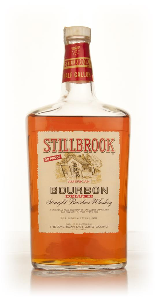 Stillbrook 4 Year Old American Straight Bourbon Whiskey 1.9l - 1960s Bourbon Whiskey