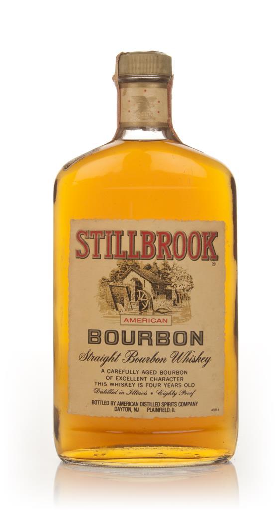 Stillbrook 4 Year Old American Straight Bourbon Whiskey - 1970s Bourbon Whiskey