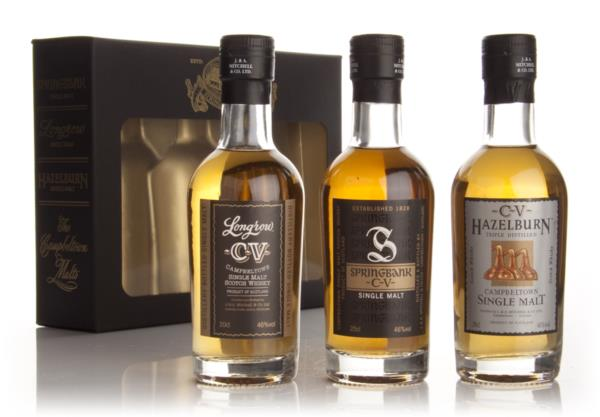 The Campbeltown CV Malts 3x20cl Single Malt Whisky