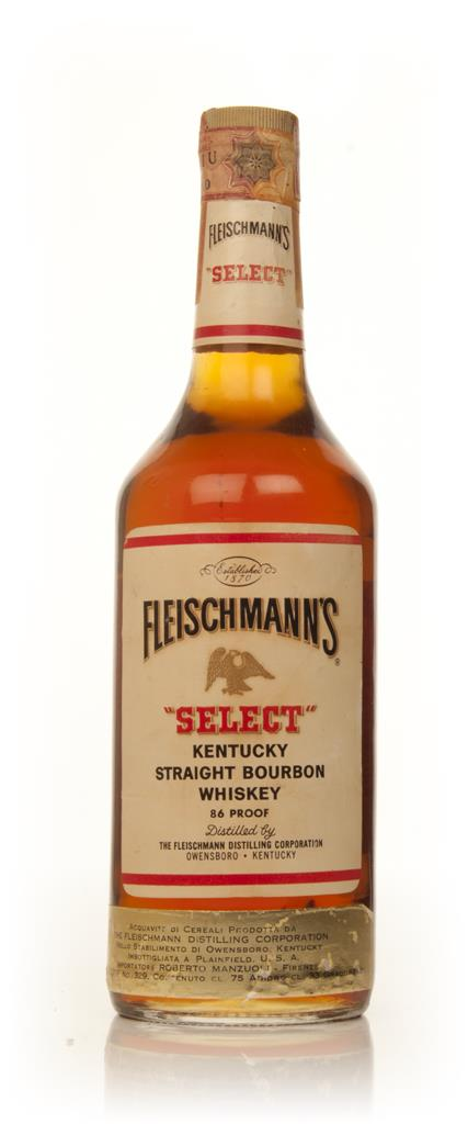 Fleischmanns Select - 1960s Bourbon Whiskey