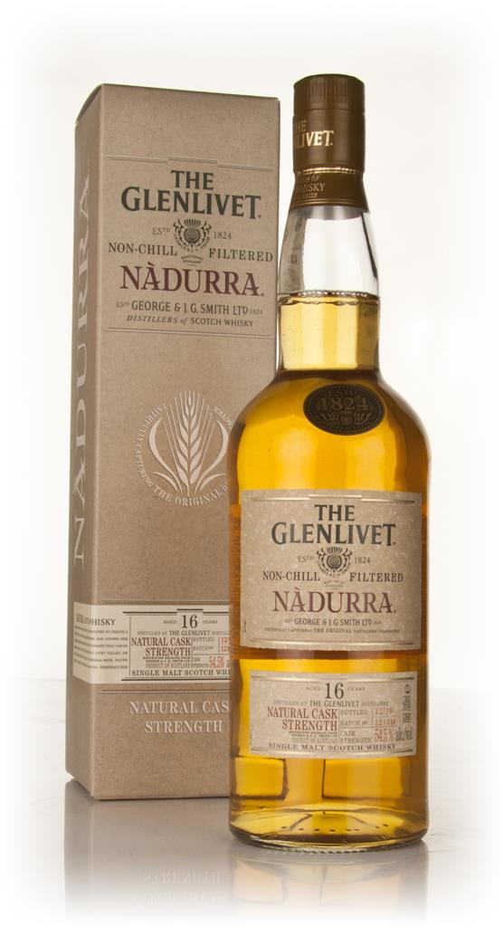 The Glenlivet 16 Year Old Nadurra Batch 1210M Single Malt Whisky