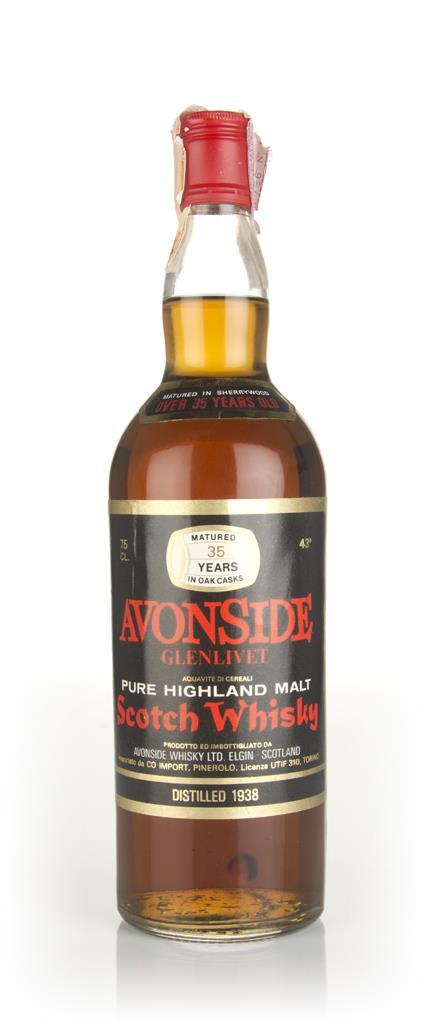 Avonside-Glenlivet 35 Year Old 1938 Blended Whisky
