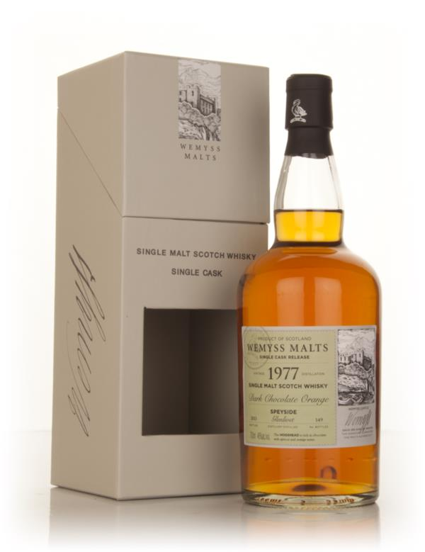 Dark Chocolate Orange 1977 - Wemyss Malts (Glenlivet) Single Malt Whisky
