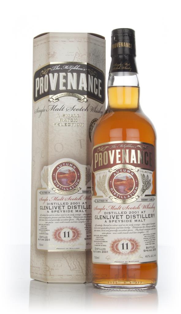 Glenlivet 11 Year Old 2001 (cask 9638) - Provenance (Douglas Laing) Single Malt Whisky
