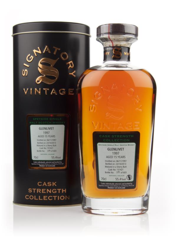 Glenlivet 15 Year Old 1997 (cask 157421) - Cask Strength Collection (S Single Malt Whisky