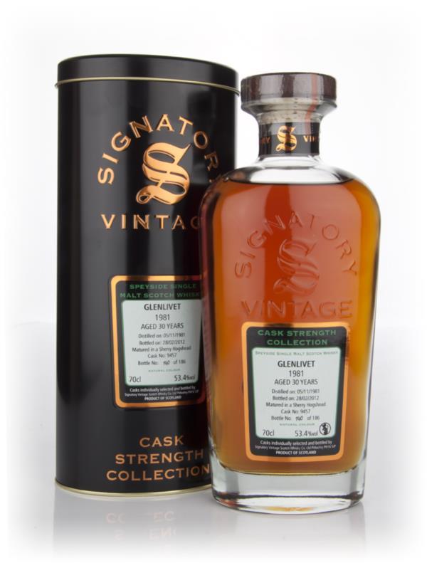 Glenlivet 30 Year Old 1981 Cask 9457 - Cask Strength Collection (Signa Single Malt Whisky