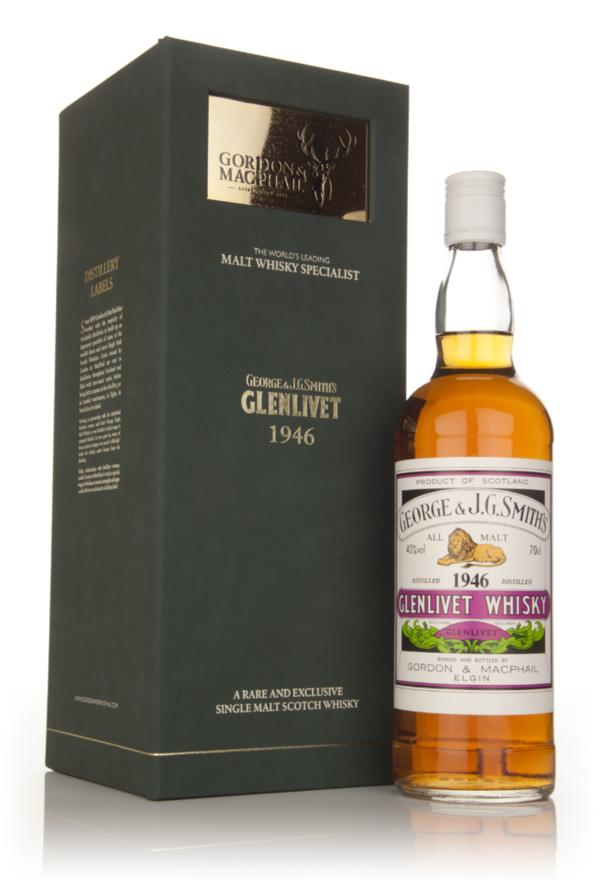 Smiths Glenlivet 1946 - (Gordon and Macphail) Single Barrel Whisky