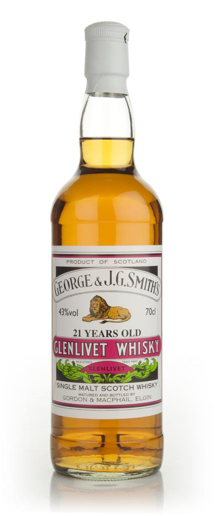 Smiths Glenlivet 21 Year Old - Gordon & MacPhail Single Malt Whisky