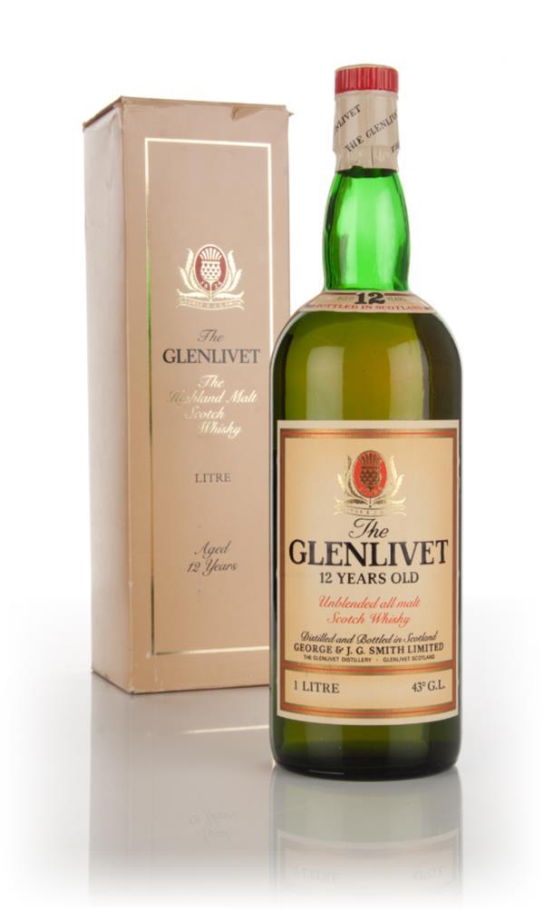 The Glenlivet 12 Year Old - 1970s Single Malt Whisky