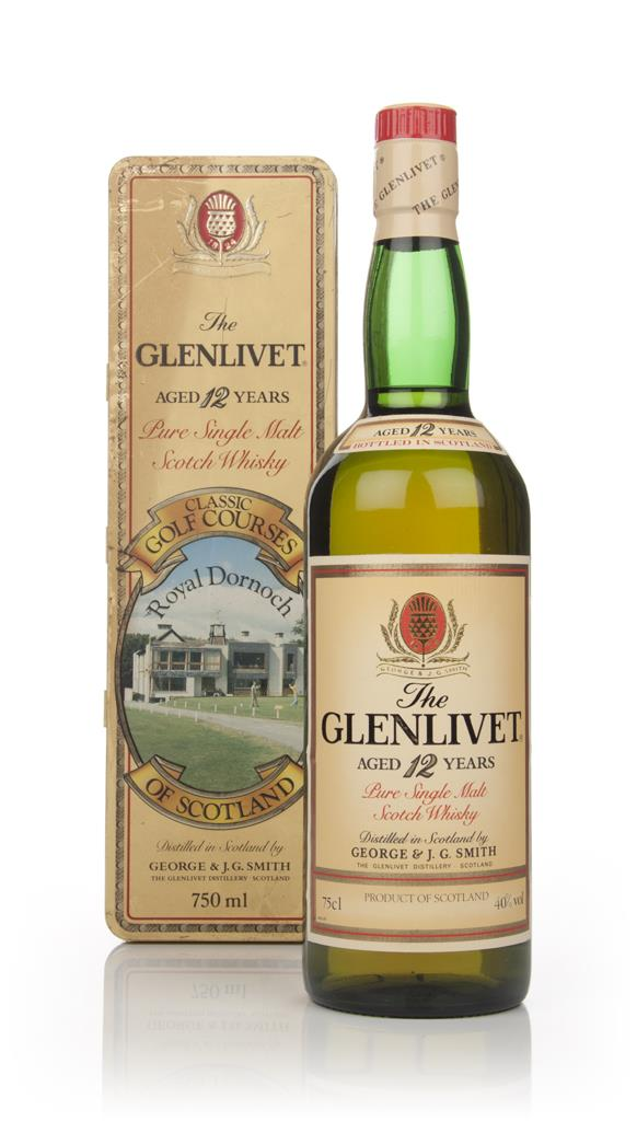 The Glenlivet 12 Year Old - Classic Golf Courses of Scotland (Royal Do Single Malt Whisky