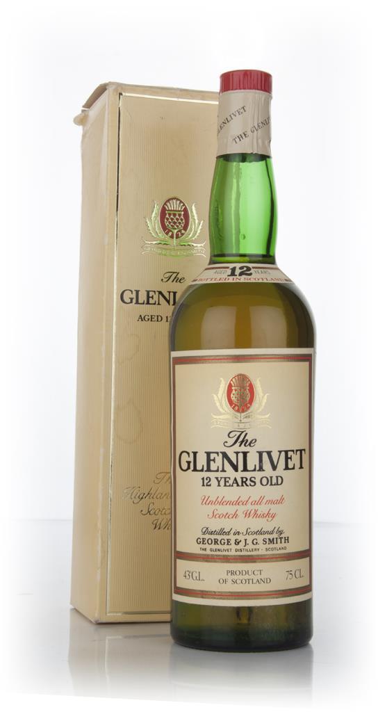 The Glenlivet 12 Year Old Unblended All Malt Single Malt Whisky