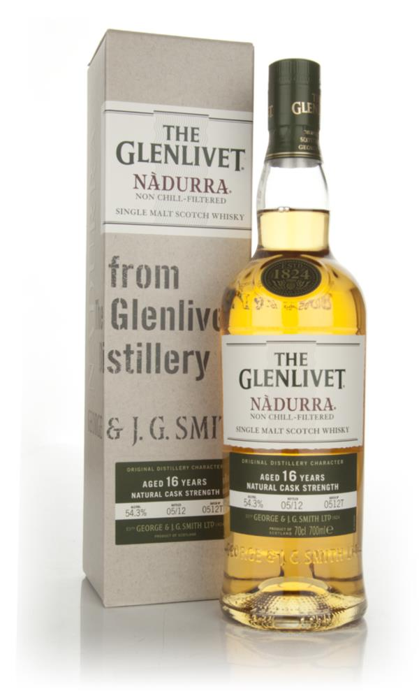 The Glenlivet 16 Year Old Nadurra Batch 0512T Single Malt Whisky