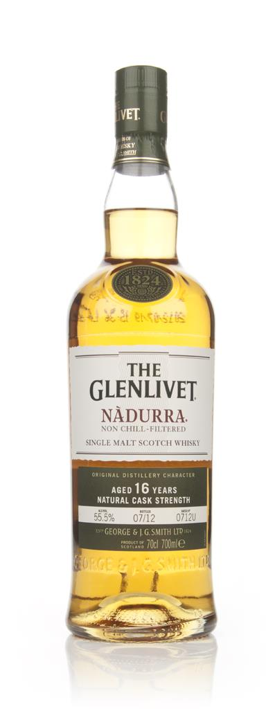 The Glenlivet 16 Year Old Nadurra Batch 0712U Single Malt Whisky