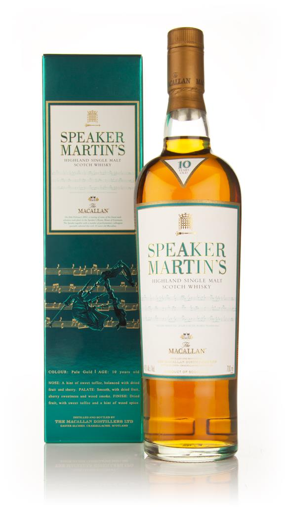 The Macallan 10 Year Old - Speaker Martins Single Malt Whisky