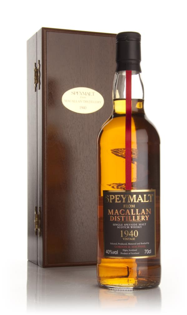 Macallan 1940 - Speymalt (Gordon and MacPhail) Single Malt Whisky