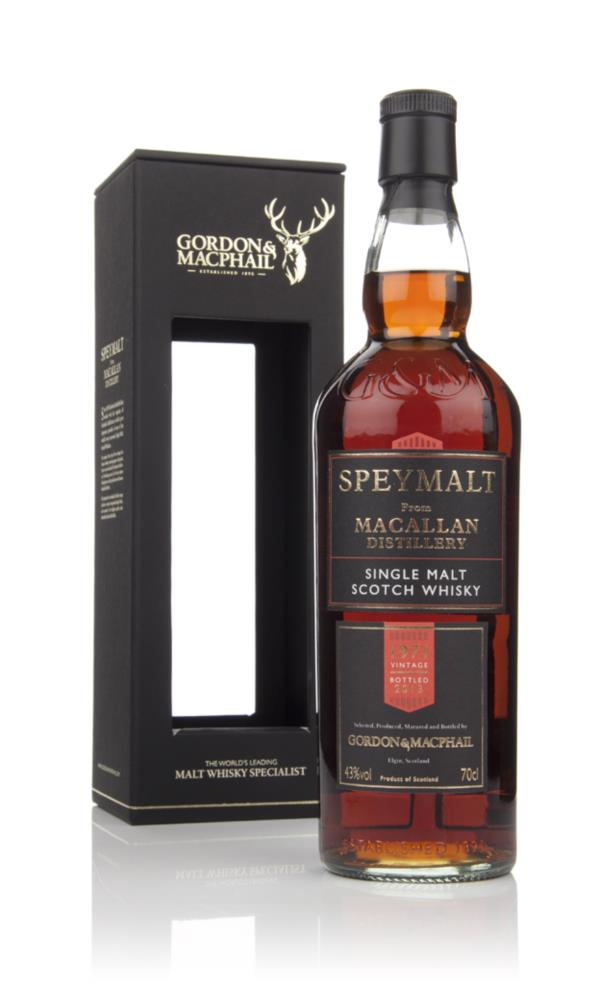 Macallan 1971 - Speymalt (Gordon and MacPhail) Single Malt Whisky