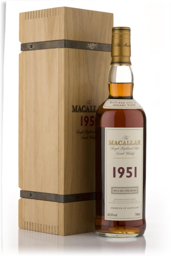 The Macallan Collectors Vintage 1951 Single Malt Whisky