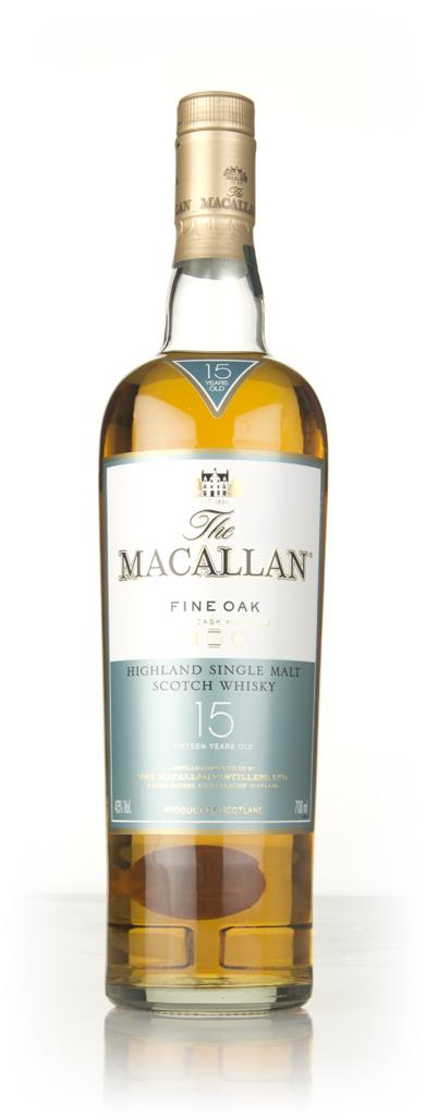 The Macallan 15 Year Old Fine Oak Single Malt Whisky