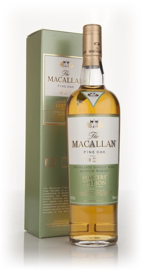 The Macallan Fine Oak Masters Edition Single Malt Whisky