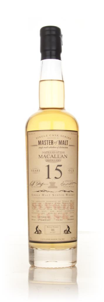 Macallan 15 Year Old - Single Cask (Master of Malt) Single Malt Whisky